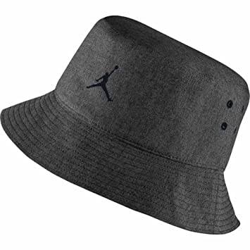 Nike Michael Jordan 23 Lux Bucket Hat Gorra, Hombre, (Negro Heather/Cool Grey), S/M: Amazon.es: Deportes y aire libre