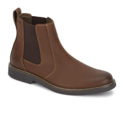 dockers Men's Langford Chelsea Boot, Black - 10 M US | Shoes