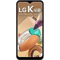 """Smartphone LG K41S 32GB, RAM de 3GB, Tela de 6,5"""" V- Notch, Câmera Quádrupla e Processador Octa-Core 2.0, Preto"""