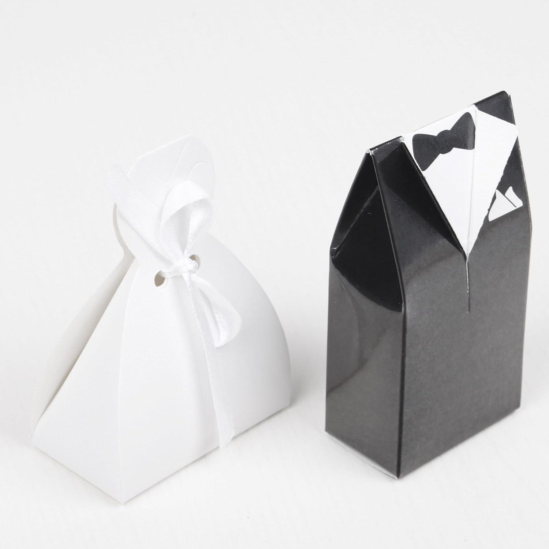 Amazon.com: JET-BOND JJ22 Paper Candy Box Set Tuxedo Dress Suit ...
