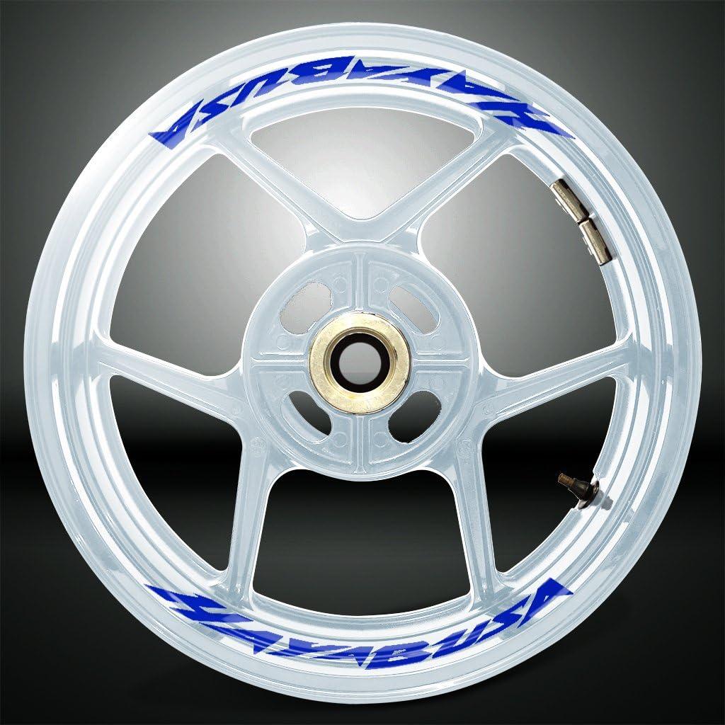 2 Tone Amethyst Motorcycle Inner Rim Tape Sticker Decal for Suzuki Hayabusa
