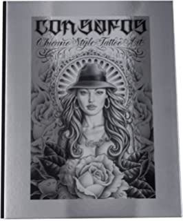 Lowrider Tattoo Flash (Chicano Gangster Cholo Deluxe Hardcover Book ...