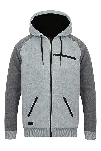 42015467c01cb Dissident Mens Hoodie Sweatshirt Jumper Jacket  Toulouse  Sherpa ...