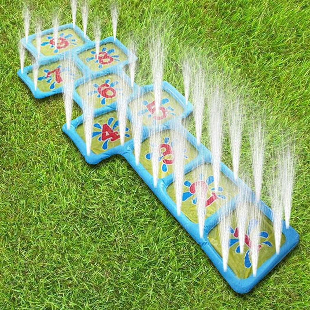 Kindsells Inflatable Sprinkler Toy Summer Children Play Water Toy Inflatable Sprinkler Ball Outdoor Beach Lawn