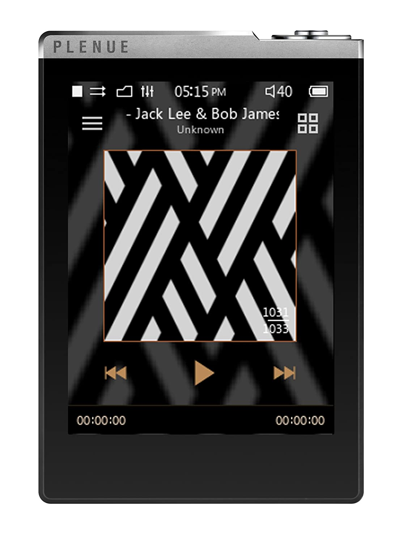 Cowon PLENUE D MP3 32GB Negro, Plata - Reproductor MP3 (Reproductor de MP3, 32 GB, LCD, USB 2.0, 94 g, Negro, Plata)