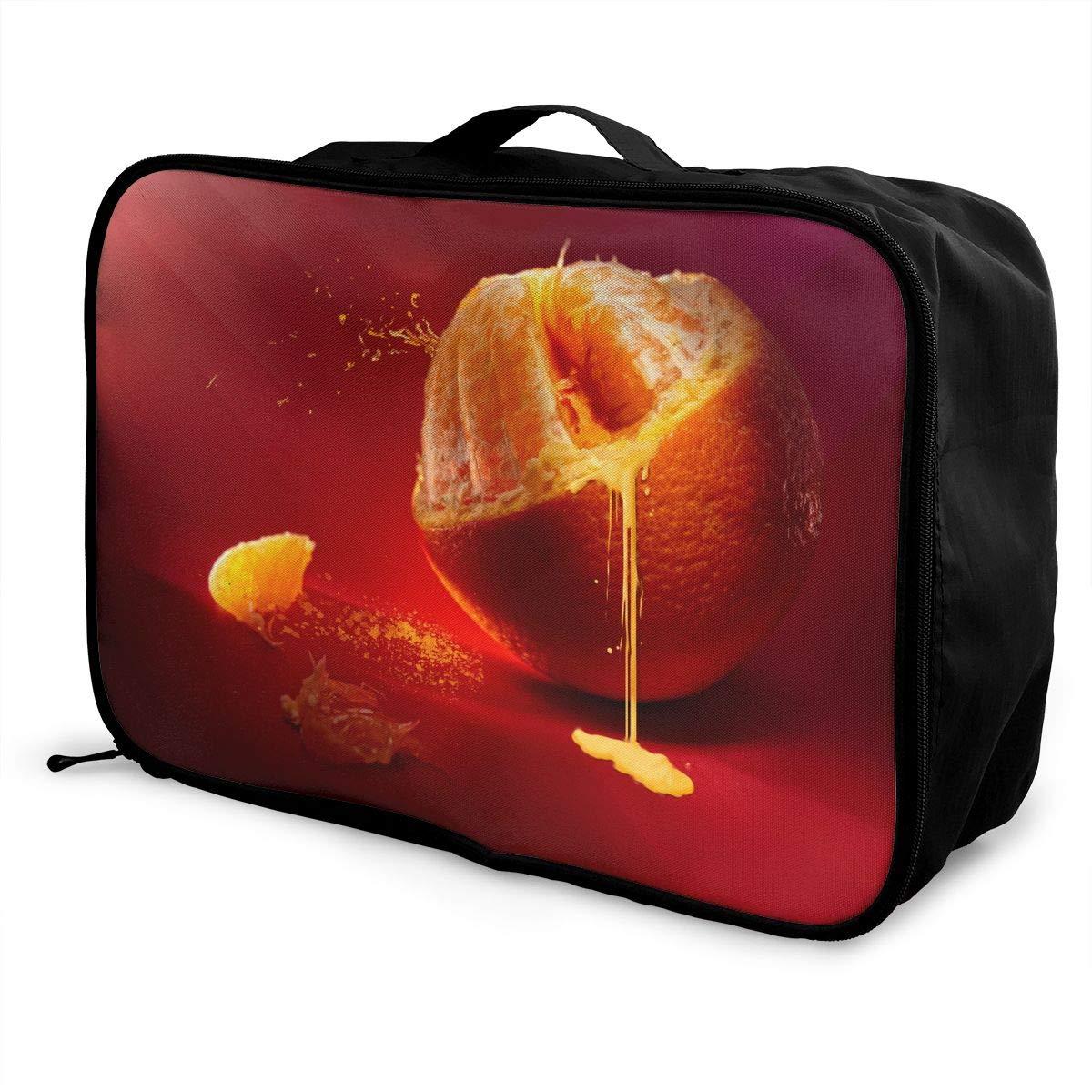 Travel Luggage Duffle Bag Lightweight Portable Handbag Fruit Juice Large Capacity Waterproof Foldable Storage Tote