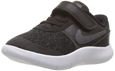 6611786c3965 NIKE Toddler Flex Contact (TDV) Black DRK Gry Anthracite White Size 2