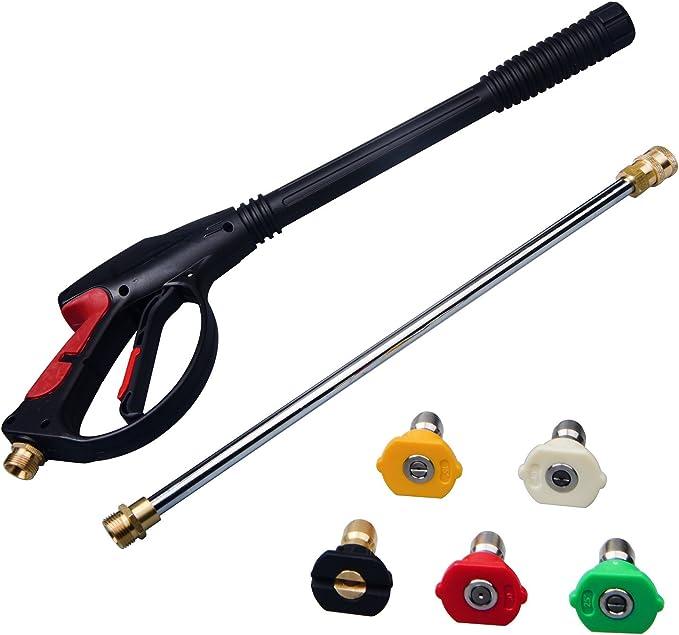 Pistola de pintura el/éctrica 550W /Φ1.0//1,8//2,5 mm con recipiente desmontable de 800 ml tres modelos de pulverizaci/ón y pulverizaci/ón en tres tama/ños de boquilla caudal 1200 ml//min
