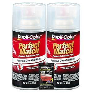 VHT Perfect Match Clear Coat Spray Can