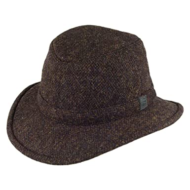 894a81c6 Tilley TW2-HT Winter Hat in Harris Tweed - Multi Mix, 7 3/4: Amazon.co.uk:  Clothing
