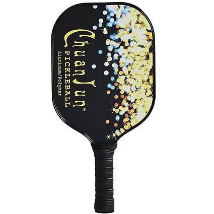 ADIPIN Pro rendimiento Aluminio Pickleball Core de polímero de paddle raqueta de neopreno ligero 7,