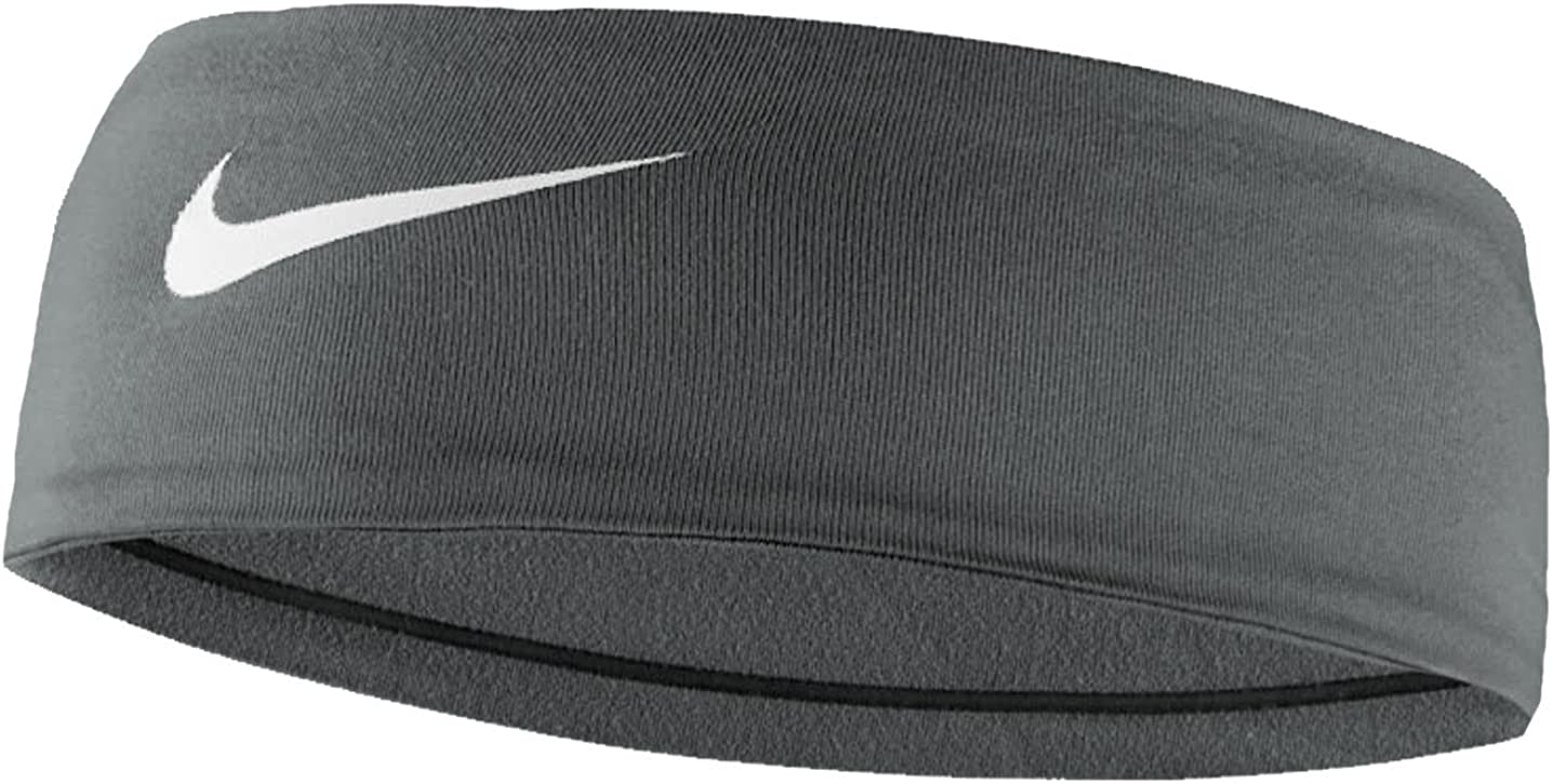 Nike Dry Wide Headband with Dri-Fit Technology: Clothing