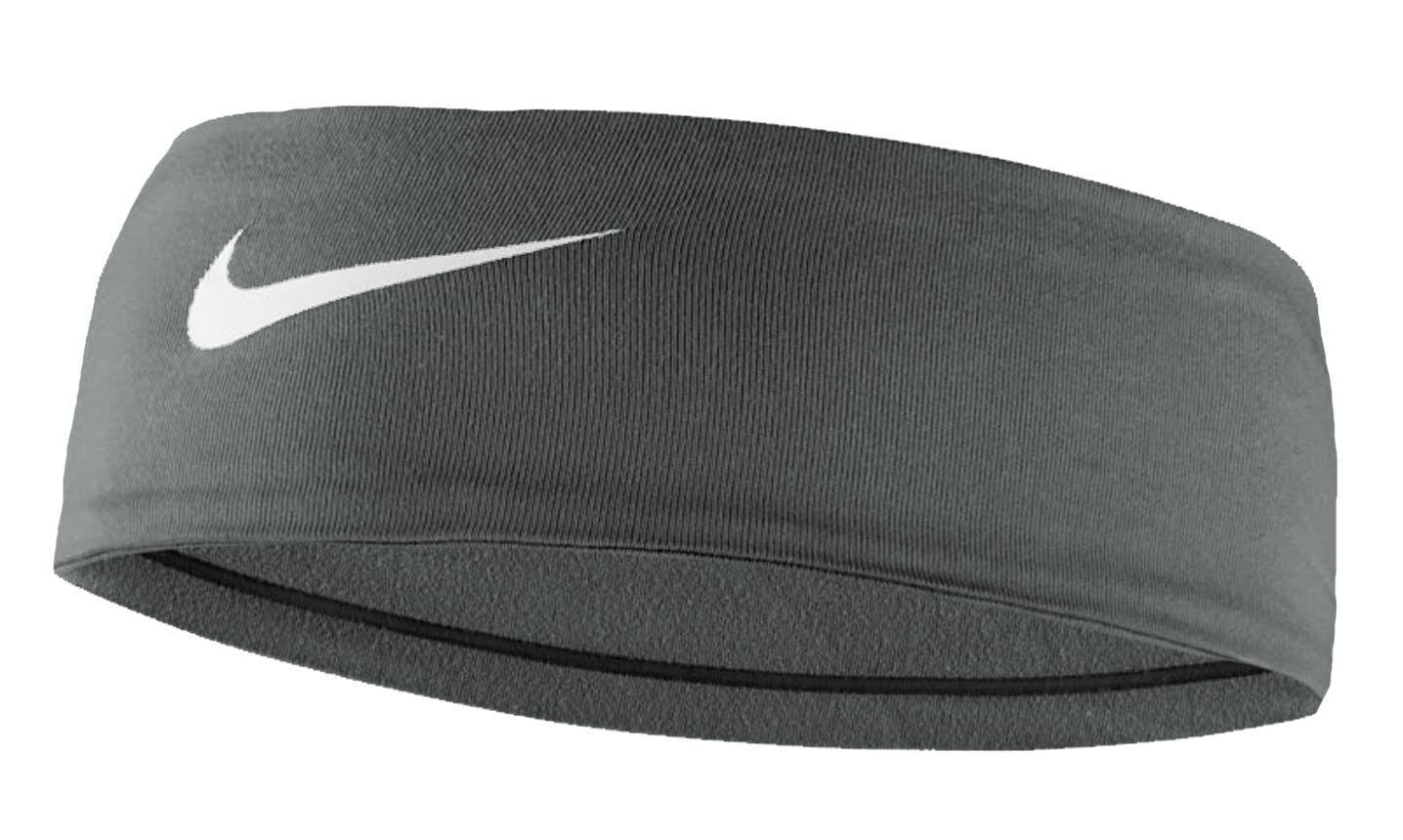 Nike Women's Fury Headband 2.0 Cool Grey/White Size One Size by Nike (Image #1)