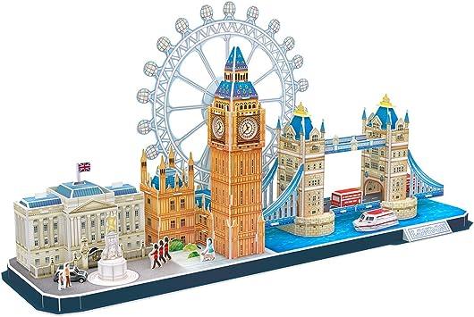Cubic Fun- Puzzle 3D de la Ciudad de Londres en Línea (771MC253): Amazon.es: Juguetes y juegos