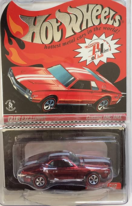 Amazon com: HOT WHEELS RLC EXCLUSIVE CUSTOM AMC AMX #2289/4500
