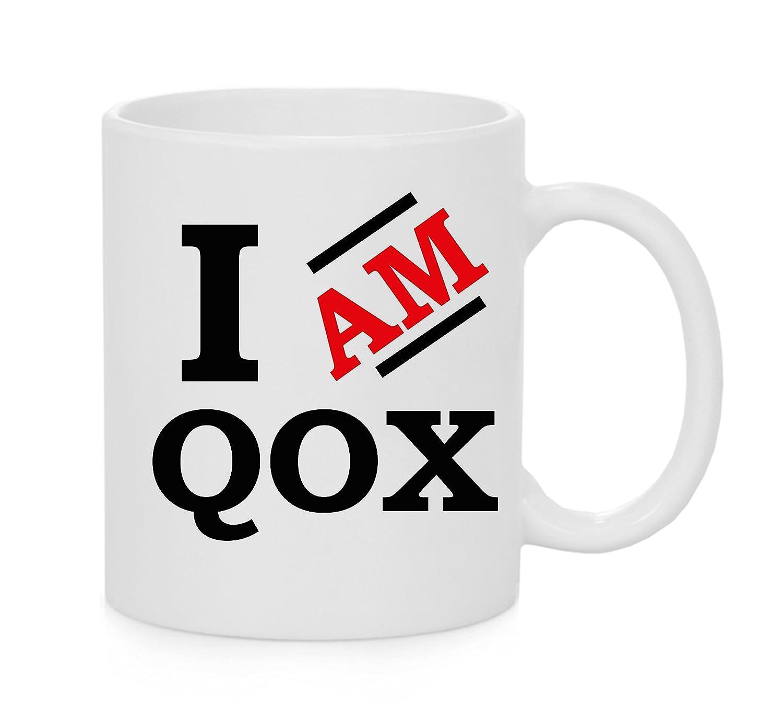 Yo Soy QOX Taza Oficial: Amazon.es: Hogar