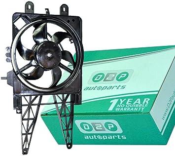 Motor con Ventilador de refrigeración para el radiador 46789115 ...