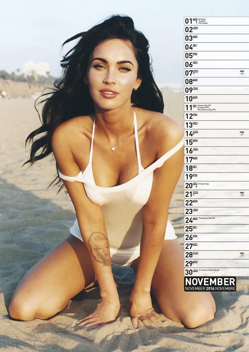 Calendario Fox.Official Megan Fox 2016 Calendar Amazon Co Uk Megan Fox