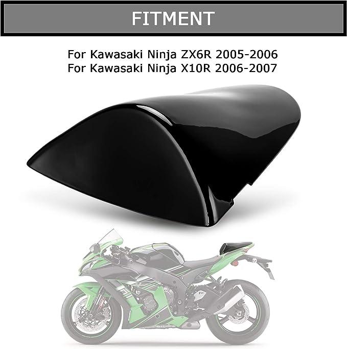 Black Rear Seat Fairing Cover Cowl For Kawasaki ZX6R 2007-2008