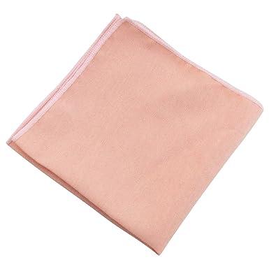 9592bcd96ca3 Vintage Wedding Blush Pink Peach Cotton Pocket Square  Amazon.co.uk   Clothing