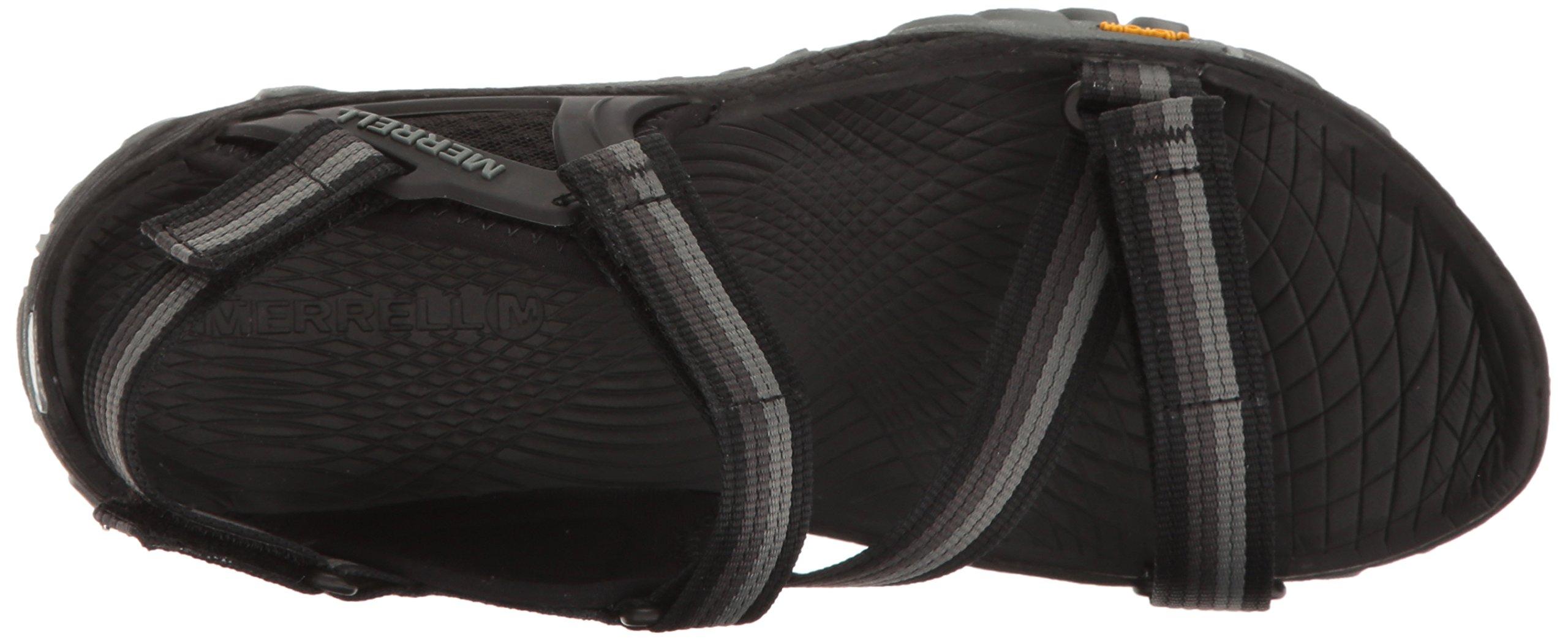 Merrell Women's All Out Blaze Web Sandal, Black, 9 M US by Merrell (Image #8)