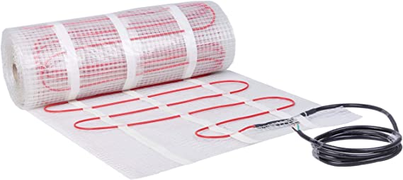 Best for budget: SEAL 70 Sq. Ft 120V Radiant Floor Heating Boiler Sizing Mat