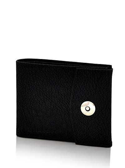 Blizzard Men's Casual,Formal Black Artificial Leather Wallet  9 Card Slots  Wallets, Card Cases   Money Organizers