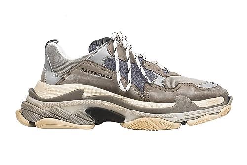 BestVIPP Unisex Balenciaga Sneakers Balenciaga Triple S Sneakers Grey White Hombre Mujer Zapatillas: Amazon.es: Zapatos y complementos