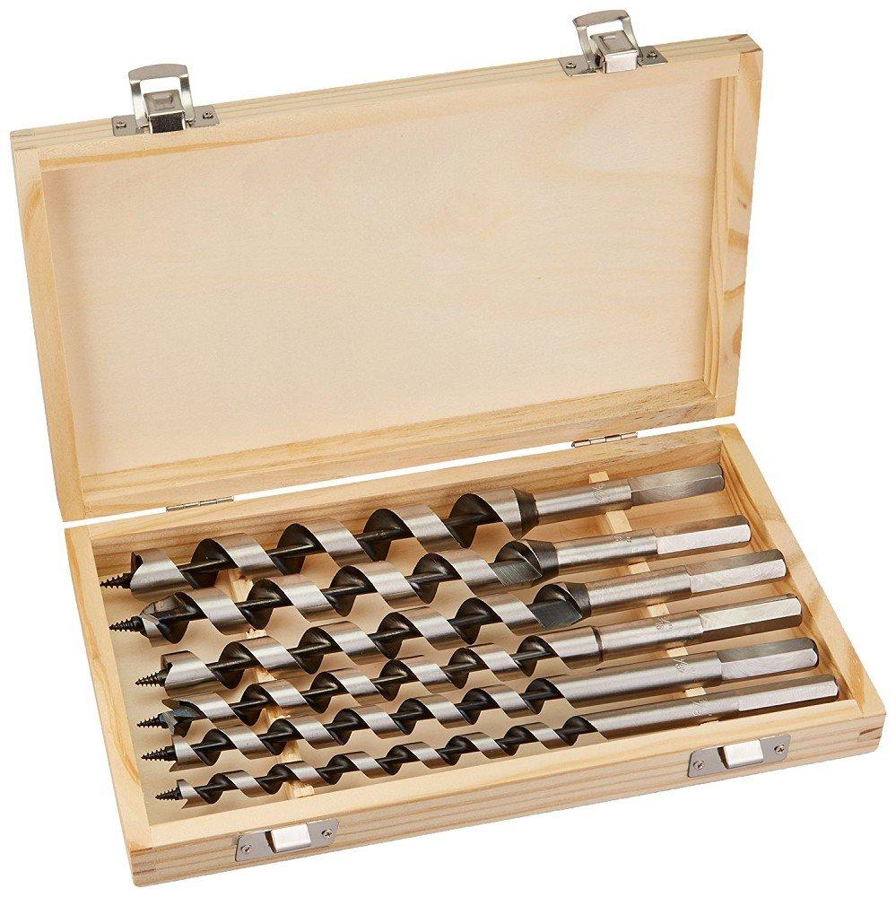 Juego de 6 brocas helicoidales para madera, 230 mm, 6 - 20 mm, barrenas 230mm 6- 20mm DWT-Germany