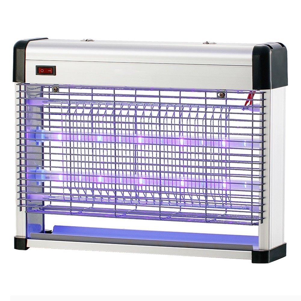 WUFENG 蚊ランプ 電気ショックタイプ LEDライト ランプを殺す 無放射線 環境を守ること 忌避剤 アーティファクト レストラン 商業の 屋内 (色 : 白, サイズ さいず : 39x8.5x29.5cm) B07CZ1LY8C 39x8.5x29.5cm|白 白 39x8.5x29.5cm