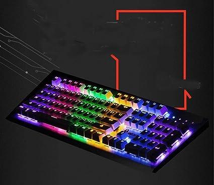 S keyboard Teclado Mecánico Auténtico del Eje Verde 87 ...