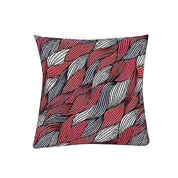Amazon.com: nxda Funda de almohada, la geometría cromática ...