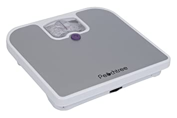 Attractive Peachtree MB 125 Mechanical Bathroom Scale, 275 Pound Capacity, Grey