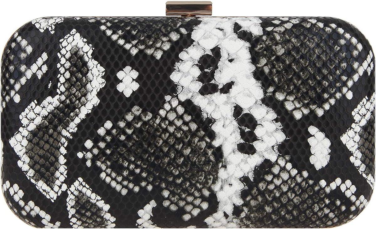 Fawziya Snakeskin Clutch Purses For Women Wedding Leather