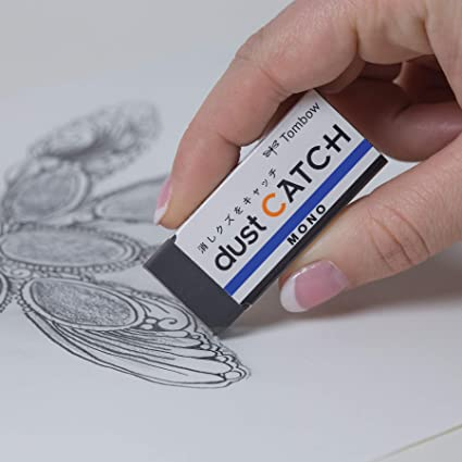 19/g /DC Erasers Mono Dust Catch per r/ückstandsloses cancellare Tombow en/