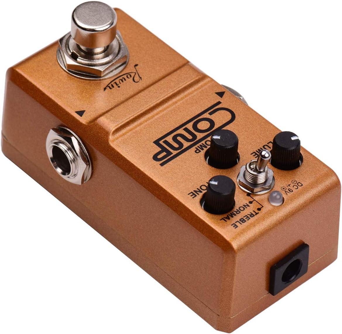 Bedler pedal de guitarra Compresor Pedal de guitarra Pedal de efectos True Bypass
