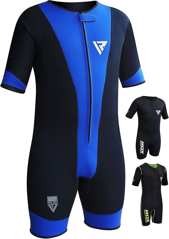 RDX Trajes Sauna De Sudoraci/ón Neopreno Triatlon Ejercicio Sudor Suit Entrenamiento