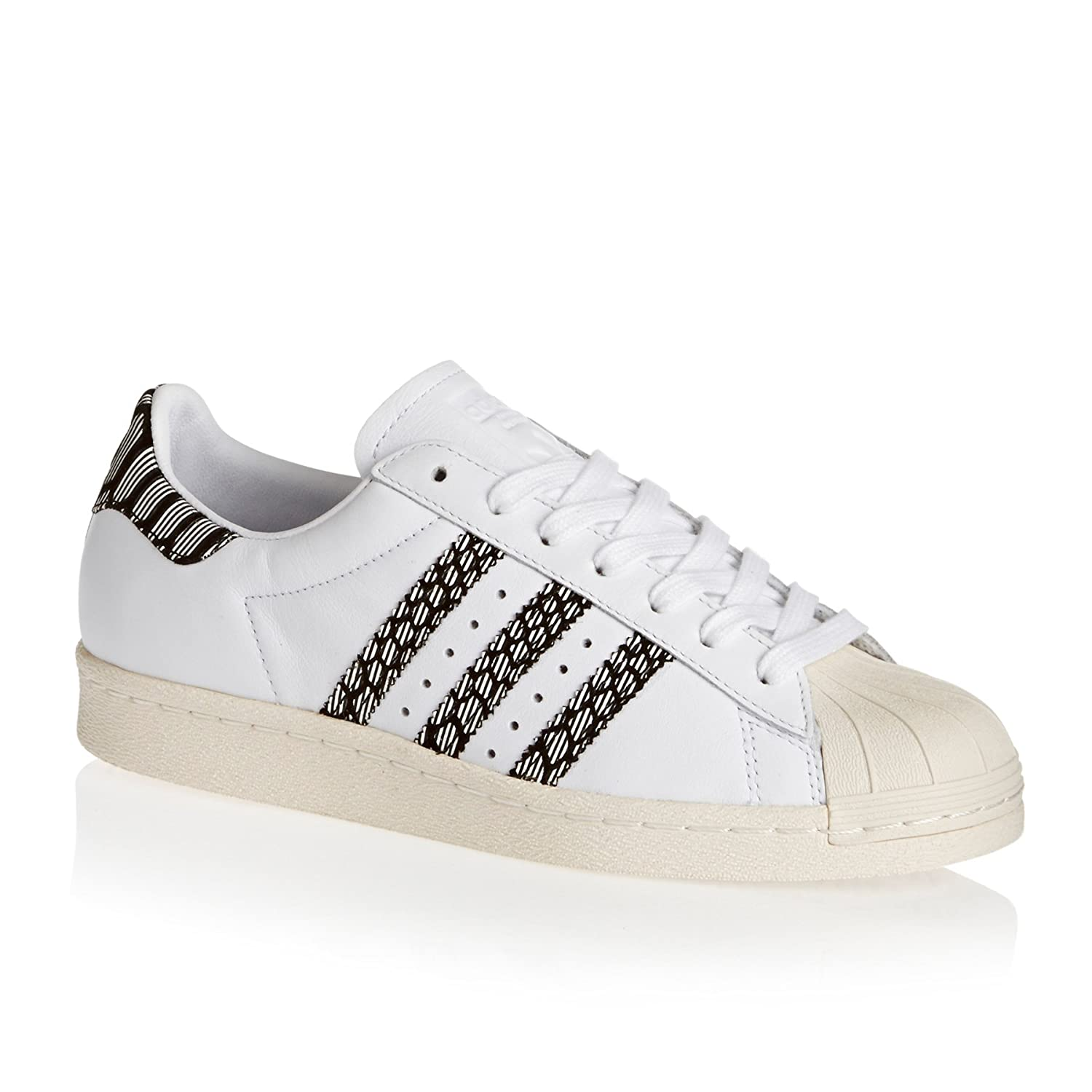 adidas Women''s Superstar 80s Low-Top Sneakers BY2126