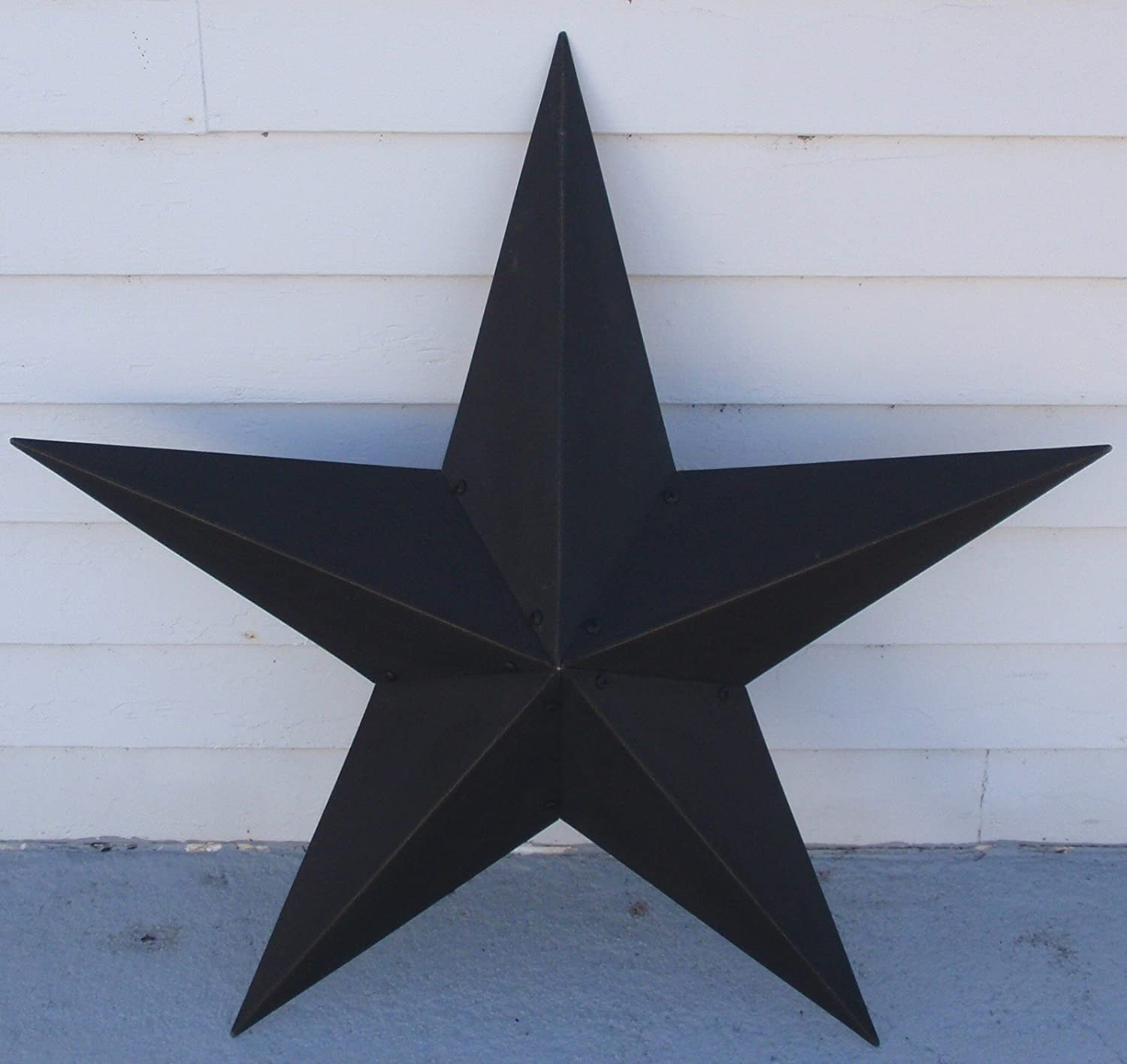 Amazon Hearthside Collection 48 Metal Black Barn Star Texas Primitive New Home Kitchen