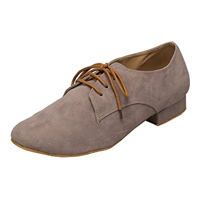 290e46f3b6e7 Amazon.com | Minishion Men's TH174 Fashion Suede Leather Wedding ...