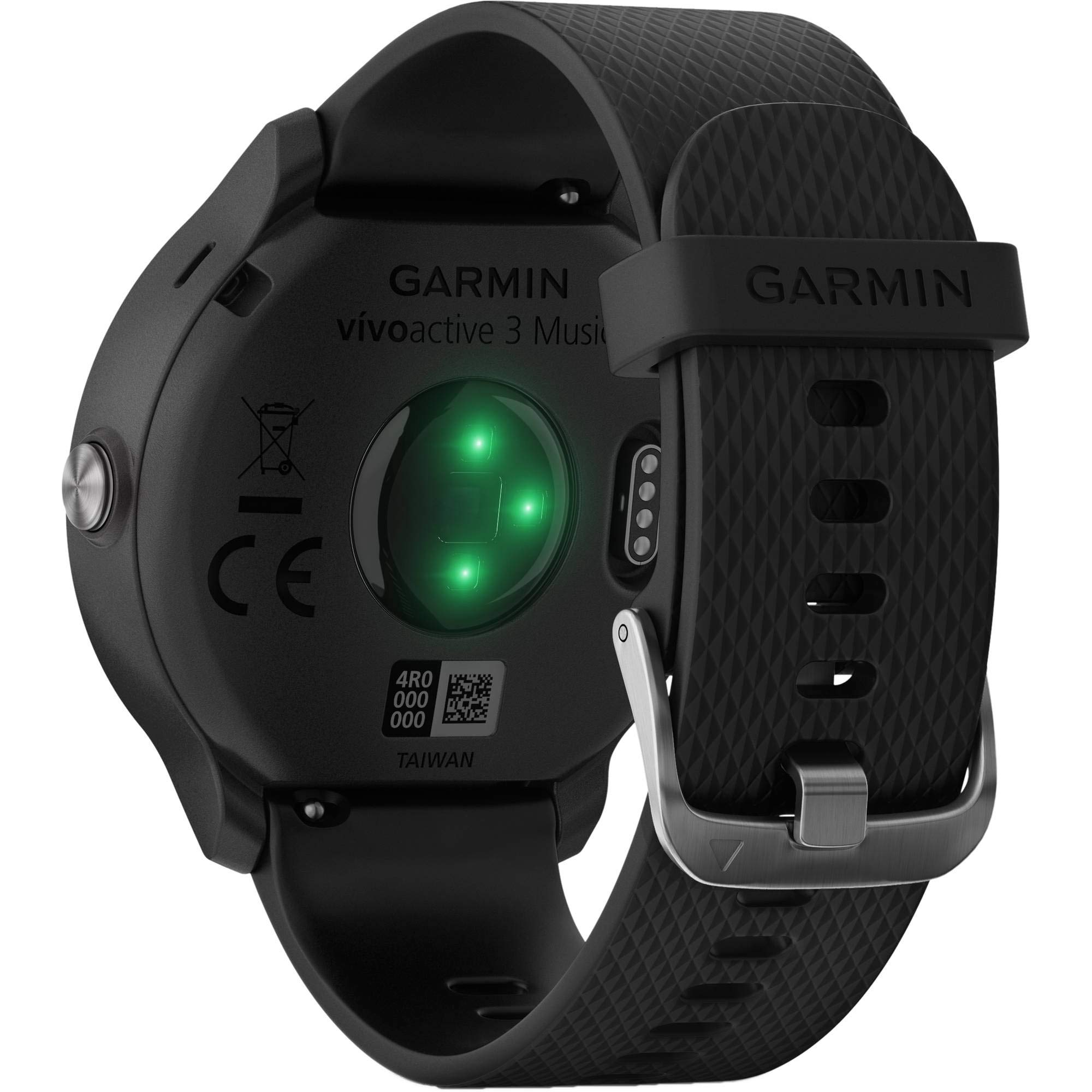 Garmin Vivoactive 3 Music - GPS Smart Watch with Music Storage & Playback - Bundle with Tempered Glass Screen Protector + 1 Year Extended Warranty by Garmin (Image #3)