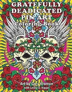 gratefully deadicated pin art coloring book - Grateful Dead Coloring Book
