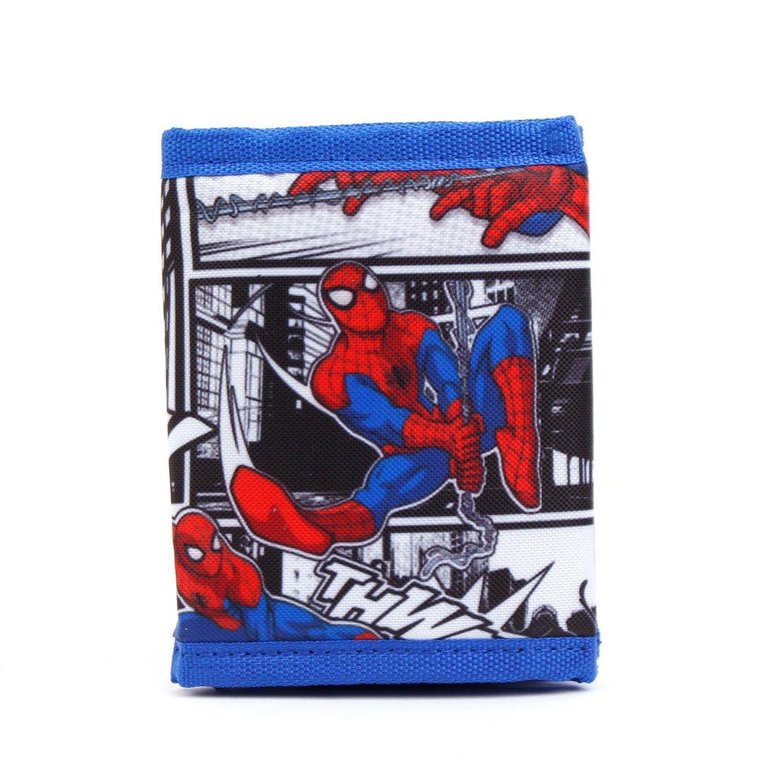WINGHOUSE x Marvel Avengers Spider-Man Credit Card Case Holder Wallet for Kids Boy blue
