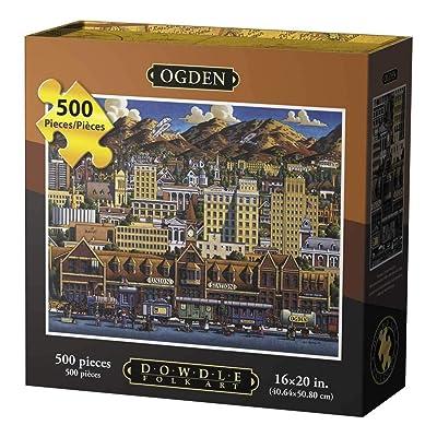 Dowdle Jigsaw Puzzle - Ogden - 500 Piece: Toys & Games