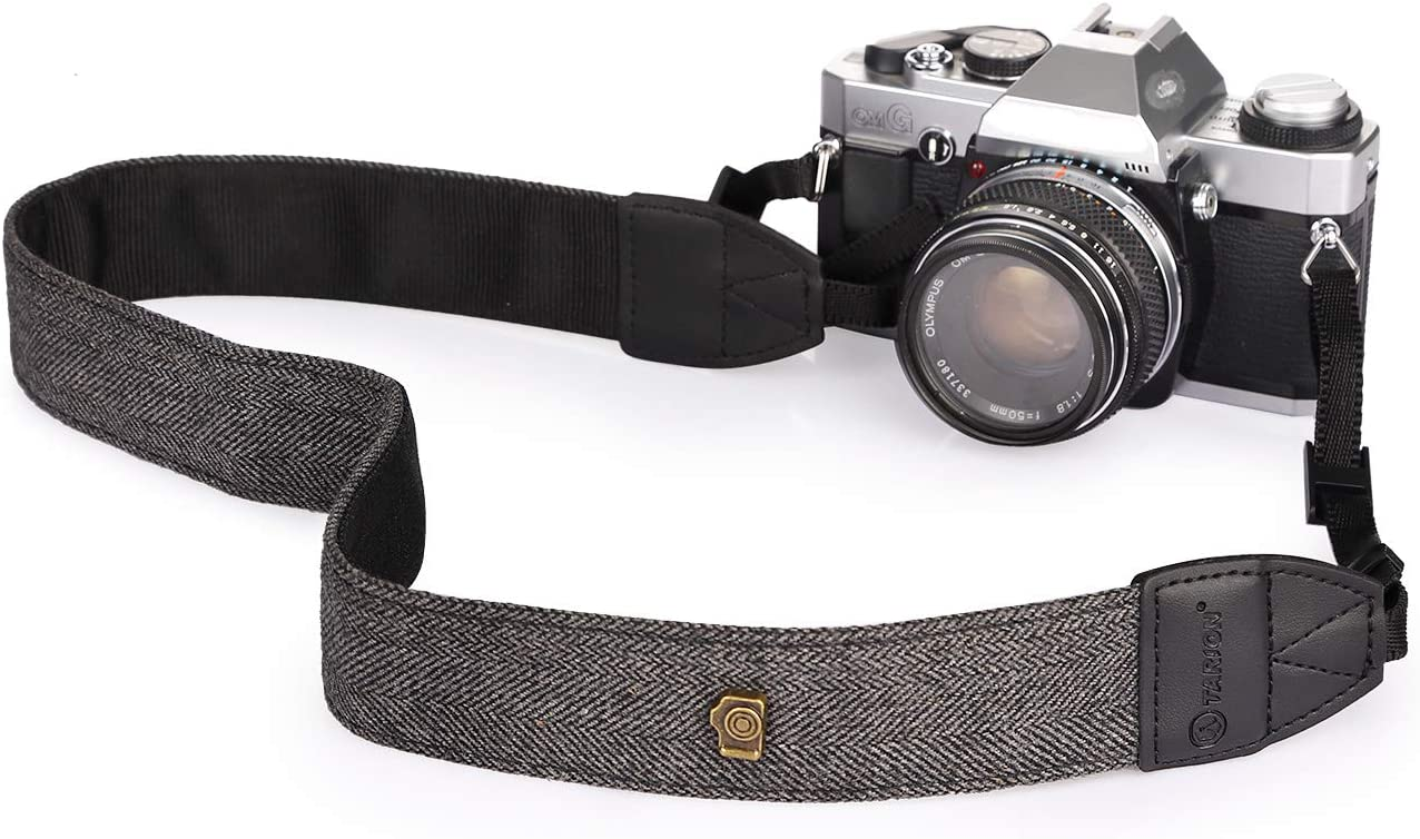 Vintage Camera Shoulder Neck Belt Strap with Rapid Fasten For SLR DSLR Canon