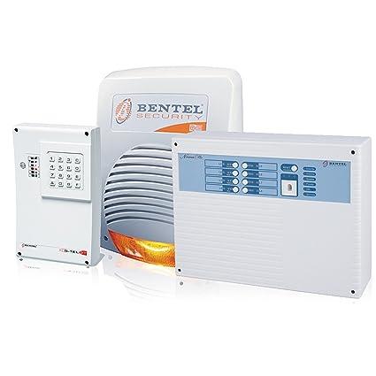 Kit de Alarma BENTEL Central NORMA 8T 8 Zonas Transmisor ...