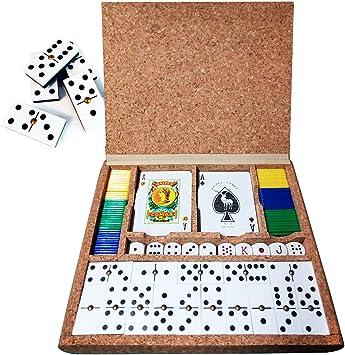 Inedit Festa Juegos DE Mesa Corcho: Amazon.es: Juguetes y juegos