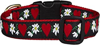 product image for Up Country Hearts & Flowers Dog Collar - Large