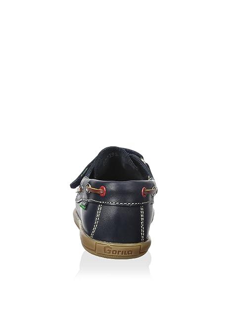 Gorila Mocasin Napa Azul Ringo 49301 Velcro (25): Amazon.es: Zapatos y complementos
