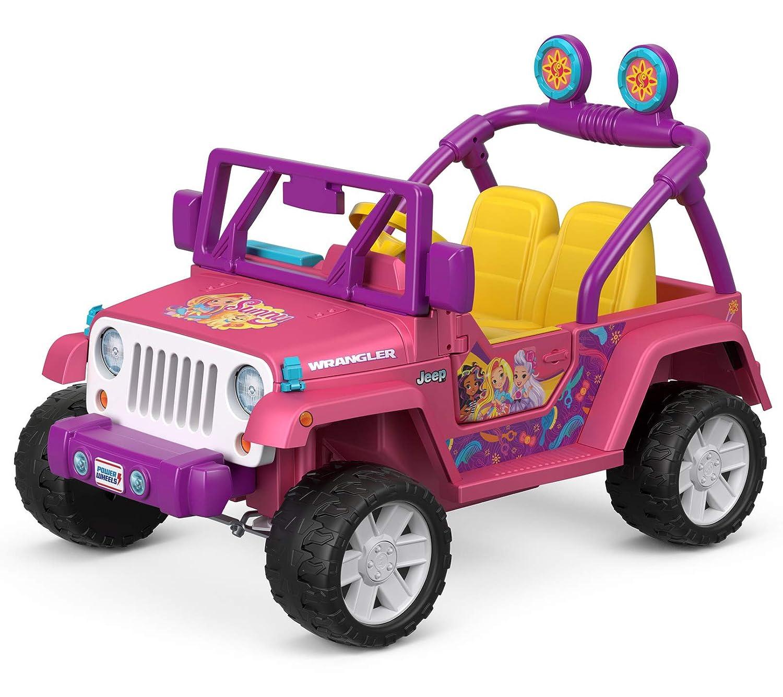 Pink Jeep Wrangler >> Power Wheels Nickelodeon Sunny Day Jeep Wrangler